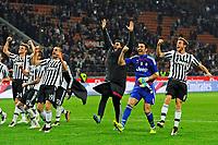 Esultanza giocatori Juventus a fine gara<br /> Milano 09-04-2016 Stadio Giuseppe Meazza - Football Calcio Serie A Milan - Juventus. Foto Giuseppe Celeste / Insidefoto