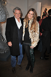 and CECILE BAIRD at a collective exhibition of work entitles Bling Bling held at Opera Gallery, 134 New Bond Street, London on 15th December 2010.  Proceeds from the evening were raised for The Prince's Foundation for Children & the Arts.
