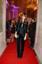 LAURA JACKSON at the WGSN Global Fashion Awards held at the V&A museum, London on 30th October 2013.