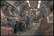 DISTRICT LINE UNDERGROUND- LONDON ENGLAND