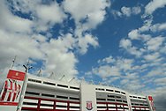 a General view of the Bet 365 Stadium. Premier league match, Stoke City v Arsenal at the Bet365 Stadium in Stoke on Trent, Staffs on Saturday 19th August 2017.<br /> pic by Bradley Collyer, Andrew Orchard sports photography.