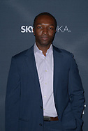 JAMIE HECTOR at the premiere of Amazon's 'Transparent' season two at the Pacific Design Center in Los Angeles, California