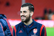 Dani Ceballos (8) of Arsenal on the pitch ahead of the The FA Cup match between Bournemouth and Arsenal at the Vitality Stadium, Bournemouth, England on 27 January 2020.