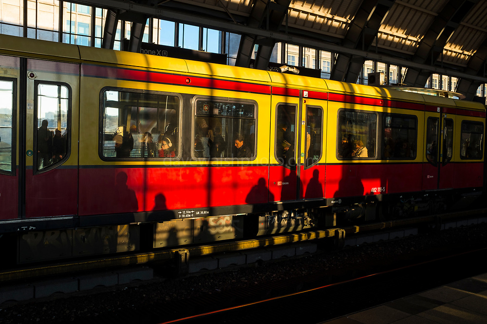 "Afternoon shadows, Berlin Alexanderplatz Bahnhof This mage can be licensed via Millennium Images. Contact me for more details, or email mail@milim.com For prints, contact me, or click ""add to cart"" to some standard print options."