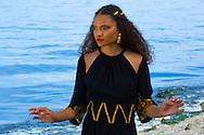 A fashion photoshoot at alki beach