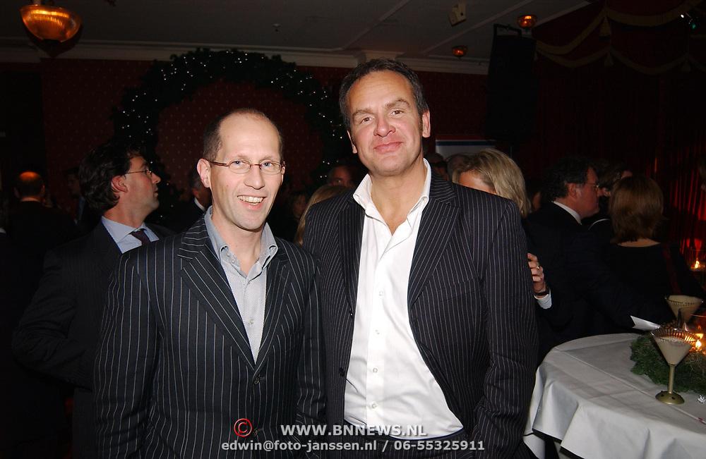 Kerstborrel Princess 2004, Peter Römer en Bert Kuizinga
