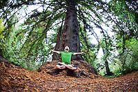 Jeremy Simon at the Botanical Garden, San Francisco