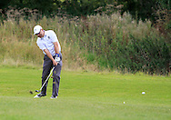 Mark McMurray (Knock) on the 18th fairway during the Final of the AIG Senior Cup at the AIG Cups & Shields National Finals in Carton House, Maynooth, Co. Kildare on the 19/09/15.<br /> Picture: Thos Caffrey | Golffile