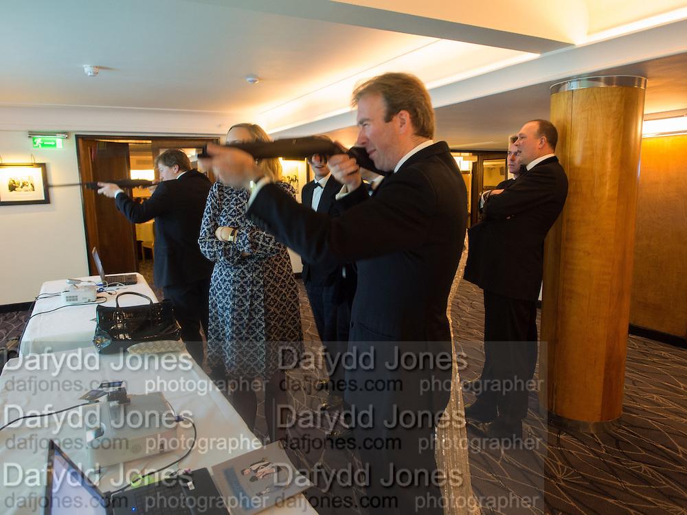 JAMES DUCKWORTH-CHAD, Game & Wildlife Conservation Trust's Ball. Savoy Hotel. London. 6 November 2013.