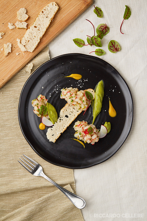Food photography. Restaurant Verses, Montreal.