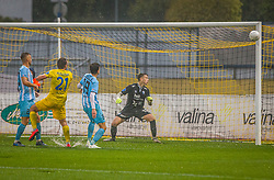 21# Matej Podlogar of NK Domzale during the match of 6. Round, 1.st Slovenian National Football League between NK Domzale and ND Gorica, on 03.10.2020 in Domzale, Slovenia. Photo by Urban Meglič / Sportida