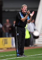 Photo: Rich Eaton.<br /> <br /> Derby County v Birmingham City. Coca Cola Championship. 21/10/2006. manager of Birmingham Steve Bruce encourages his team during the first half