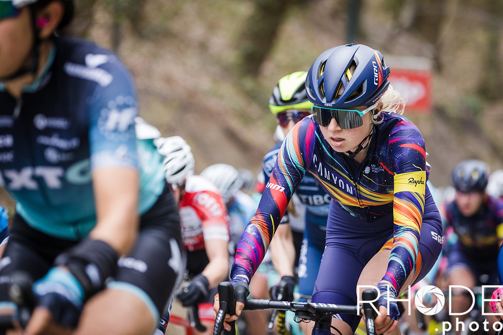 Mikayla Harvey (AUS/Canyon Sram Racing)<br /> <br /> Women's Elite Brabantse Pijl 2021 <br /> 1 Day Race: Lennik - Overijse 127km<br /> <br /> ©Rhode.Photo