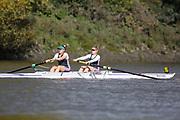 Crew: 95 - Dix / Major - Auriol Kensington Rowing Club - W 2- Club <br /> <br /> Pairs Head 2020