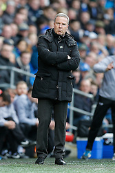 Wolverhampton Wanderers Manager Kenny Jackett looks on - Photo mandatory by-line: Rogan Thomson/JMP - 07966 386802 - 28/02/2015 - SPORT - FOOTBALL - Cardiff, Wales - Cardiff City Stadium - Cardiff City v Wolverhampton Wanderers - Sky Bet Championship.