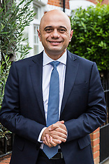 2019-06-19 Sajid Javid leaves home for Tory leadership 3rd ballot