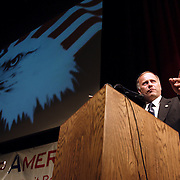 Steve King addresses supporters at a Minute Men summit in Las Vegas, Nevada. Please contact Todd Bigelow directly with your licensing requests.
