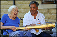 DR Chai Patel Olympic Torch