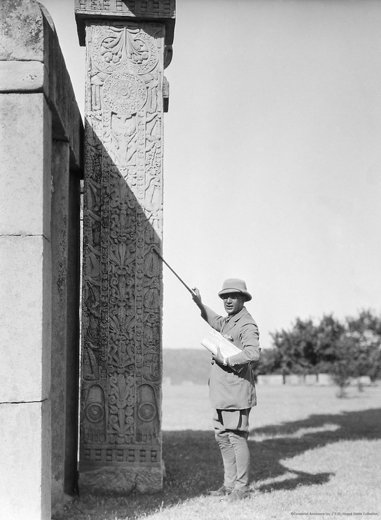 North Gate, Sanchi, India, 1929