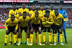 September 3, 2017 - Toronto, Ontario, Canada - Jamaica National football team during the Canada-Jamaica Men's International Friendly match at BMO Field in Toronto, Canada, on 2 September 2017. (Credit Image: © Anatoliy Cherkasov/NurPhoto via ZUMA Press)