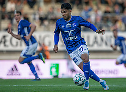Rezan Corlu (Lyngby Boldklub) under kampen i 3F Superligaen mellem Lyngby Boldklub og Hobro IK den 20. juli 2020 på Lyngby Stadion (Foto: Claus Birch).