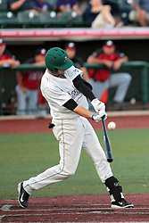 06 June 2014:  Sam Judah during a Frontier League Baseball game between the Frontier Freedom and the Normal CornBelters at Corn Crib Stadium on the campus of Heartland Community College in Normal Illinois