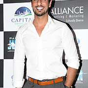 """Asad Shan attend Photocall in London Premiere of """"Parwaaz Hai Junoon"""" (Soaring Passion) as featured on SKY, ITV at The May Fair Hotel, Stratton Street, London, UK. 22 August 2018."""