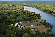 Iwokrama Lodge<br /> Tourist Accommodation<br /> Iwokrama Reserve<br /> GUYANA<br /> South America