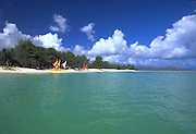 Kailua Beach, Kailua, Oahu, Hawaii, USA<br />
