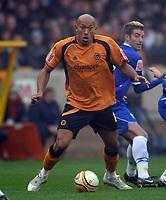 Wolverhampton Wanderers/Birmingham City Championship 28.11.08 <br /> Photo: Tim Parker Fotosports International<br /> Chris Iwelumo Wolverhampton Wanderers 2008/09