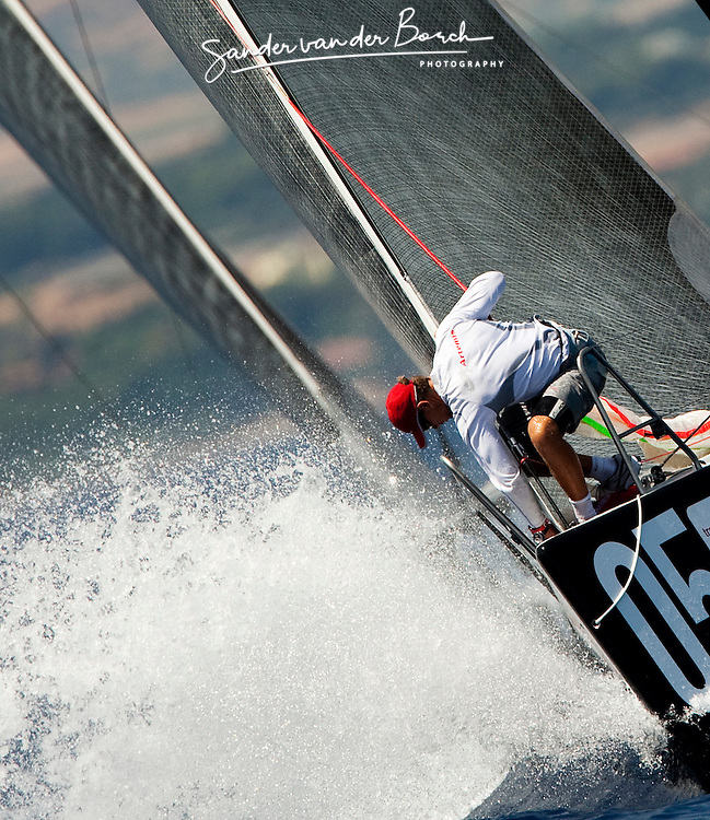 © Sander van der Borch. Cagliari - Italy, July 22th 2009. AUDI MEDCUP in Alicante (12/17 May 2009). Coastal Race TP52.