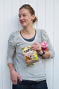 Annie Davis Usher Portrait - 2011 Giro d' Italia