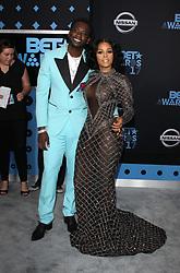 2017 BET Awards. 25 Jun 2017 Pictured: Gucci Mane, Keyshia Kaoir. Photo credit: Jaxon / MEGA TheMegaAgency.com +1 888 505 6342