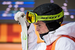 February 9, 2018 - Pyeongchang, South Korea - 180209 Ludvig FjÅ llstrÅ¡m of Sweden in the finishing area after competing in the MenÃ•s Moguls Qualification during the 2018 Winter Olympics on February 9, 2018 in Pyeongchang..Photo: Petter Arvidson / BILDBYRN / kod PA / 91956 (Credit Image: © Petter Arvidson/Bildbyran via ZUMA Press)