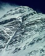 Summit Mt Everest, Upper Hornbein Couloir, North face Chomolungma, Tibet