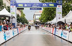 Finish in Ljubljana during Stage 2 of 24th Tour of Slovenia 2017 / Tour de Slovenie from Ljubljana to Ljubljana (169,9 km) cycling race on June 16, 2017 in Slovenia. Photo by Vid Ponikvar / Sportida