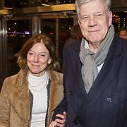NLD/Rotterdam/20190221 - inloop verjaardagsfeestj Willem van Hanegem, Ivo Opstelten en partner Mariette