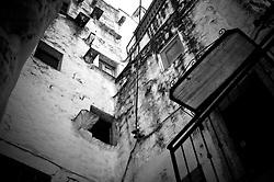 Uno scorcio di un vicolo del borgo antico di Ostuni