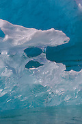 Ice from the LeConte Glacier, Tongass National Forest, Alaska.