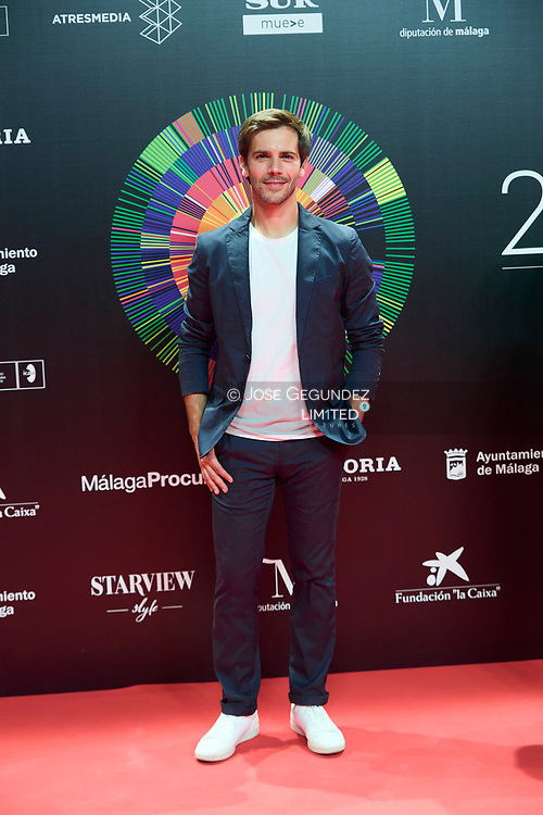Marc Clotet attends 24th Malaga Film Festival presentation photocall at Circulo de Bellas Artes on May 25, 2021 in Madrid, Spain