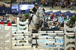 Meyer Janne Friederike, (GER), Charlotta 25<br /> Champion von München<br />  Jumping München 2015<br /> © Hippo Foto - Stefan Lafrentz