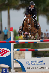 Hecart Marie (FRA) - Myself de Breve<br /> Horseware GP CSI 2*<br /> Wellington 2012<br /> © Hippo Foto - Cealy Tetly