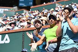 March 16, 2019 - Palm Desert, California, Usa - Tennis : BNP Paribas Open 2019 - Equipe de Dominic Thiem - Autriche - Nicola Massu - Chili (Credit Image: © Panoramic via ZUMA Press)