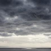 Last light, Berrow Flats, Somerset.