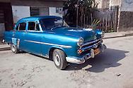 Old American car in Gibara, Holguin, Cuba.