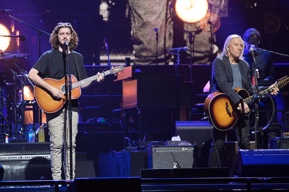 The Eagles perform at the Fiserv Forum in Milwaukee on October 18, 2018.