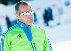 Borut Nunar during Men 12,5 km Pursuit at day 3 of IBU Biathlon World Cup 2014/2015 Pokljuka, on December 20, 2014 in Rudno polje, Pokljuka, Slovenia. Photo by Vid Ponikvar / Sportida