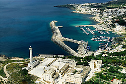 Santa Maria di Leuca, Salento. Panoramic view of the souther point of Italy, Puglia