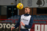 06/10/2020: Dundee FC train at Kilmac Stadium after their Betfred Cup match against Forfar Athletic was postponed due to a positive COVID test result for one of the Forfar players: Christie Elliott of Dundee <br /> <br /> <br />  :©David Young: davidyoungphoto@gmail.com: www.davidyoungphoto.co.uk