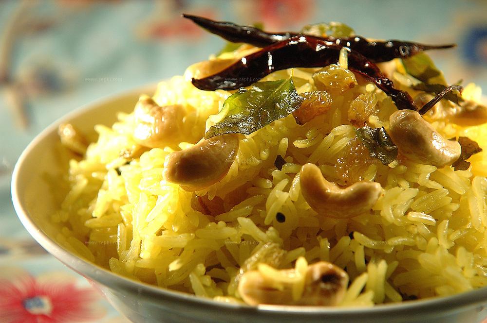 Nimbu Chawal - Lemon rice( Recipe available upon request )